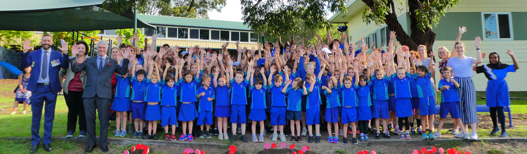 Our school on ANZAC Day